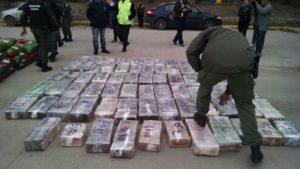 Incautan más de mil kilos de marihuana en Villarino