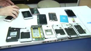 Más de 150 detenidos por vender celulares robados