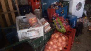 Robaron mercadería destinada a comedores escolares