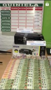 Moreno: ocho detenidos por juego clandestino